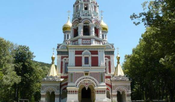 "Shipka Monastery Sights Kazanlak, Park-Museum ""Shipka-Buzludzha"", Bulgaria"