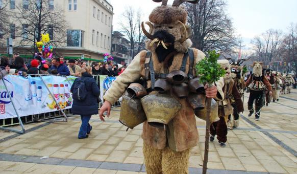 Перник, Международни фестивали, Сурва, Карнавал в България